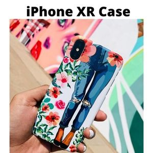 iPhone XR Case Fashionista Hard Cover